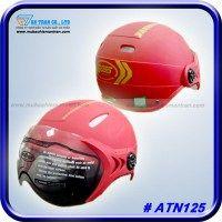 Mũ bảo hiểm nửa đầu có kính ATN125 | Model ATN09K    http://mubaohiemantran.com/boss/non-co-kinh-atn125-helmet