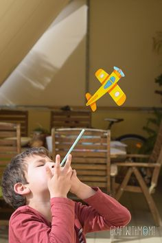 Make a paper airplane that actually flys!!