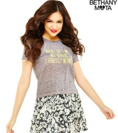 <3 this top from the Bethany Mota Clothing Line at Aeropostale