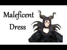 How to make Maleficent inspired Dress Tutorial DIY Maleficent Movie, Maleficent Costume, Bratz Doll, Barbie Dolls, Dress Sewing Tutorials, Homemade Halloween Costumes, Doll Tutorial, Doll Costume, Diy Doll