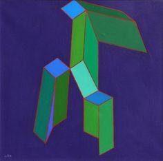 PERILLI Achille - Roma 1927 - - Prosodia delle tangenze - 1991 - acrylic on [...], Art Moderne et Contemporain à Galleria Poleschi Casa d'Aste SRL | Auction.fr