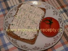 Pomazánka s tuňákem Mashed Potatoes, Grains, Appetizers, Bread, Cheese, Ethnic Recipes, Food, Spreads, Whipped Potatoes