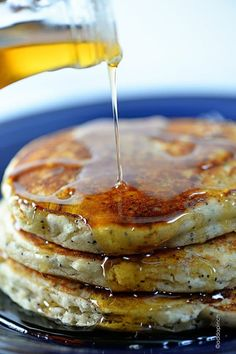 Lemon Poppy Seed Pancakes make a delicious start to any morning. Filled with bright citrus, these lemon poppy seed pancakes are sure to become a favorite!