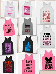mean girls movie quotes shirts #YOUCANTSITWITHUS!