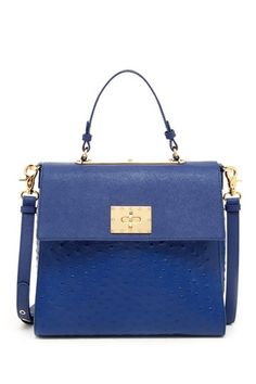Glenda Satchel by Badgley Mischka on @HauteLook just bought this one! Love it! & I think in this color I will get lots of wear out of it all year long! Also the size is perfect! Not to big. :-)