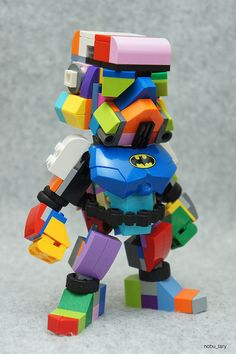 Da Brickpimp iz bringing you da latest an' greatest builder models an' LEGO® news from all ova da internet and shiz. Plastic brick creations, by adults, for adults. Lego Stormtrooper, Lego Robot, Lego Mecha, Lego Toys, Lego Bionicle, Lego Man, Legos, Big Lego, Lego Sculptures