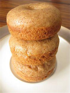 Baked apple cider donuts!
