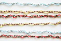 color chains by wildolive, via Flickr