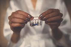 Make sure your hands look the part on the Big Day with these stunning wedding day nails ideas. Wedding Day Nails, Bridal Nails, Something Blue, Big Day, Diy Gifts, Real Weddings, Sparkle, Engagement Rings, Metallic