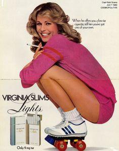 Virginia Slims cigarettes #vintage ads
