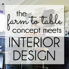 HGTV's Genevieve Gorder predicts that in 2016 we'll see the farm to table concept translated into the interior design world...with the Rust Belt as our backyard.