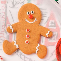 Your little helpers will love decorating these soft and chewy Gingerbread People.