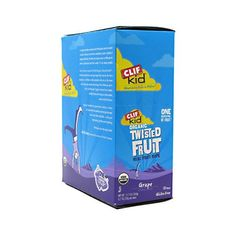 Clif Bar Kid Zfruit  Organic Grape  Box of 18 units  07 oz * Find out more about the great product at the image link.