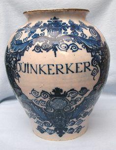 Antique Dutch Delft Pottery