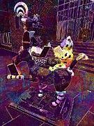 "New artwork for sale! - "" Bremen Town Musicians Donkey Dog  by PixBreak Art "" - http://ift.tt/2ttXA0e"