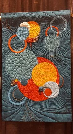 great quilting in this project