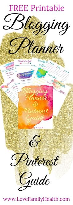 This FREE printable blogging planner will help you keep your blog and business organized! Keeping your blog on track and exploding your traffic!