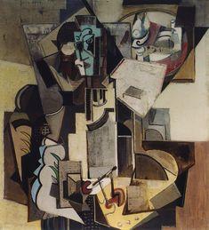 Emil Filla (Czech 1882–1953) [Cubism, Modernism, Osma] Painter.