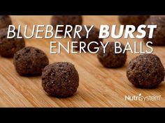 Blueberry Burst Energy Balls - The Leaf