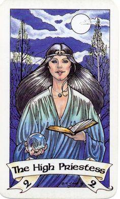 The High Priestess - Robin Wood Tarot