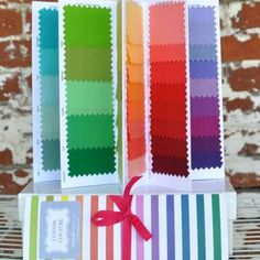Michael Miller House Designer - Cotton Couture - Color Card in Swatches