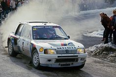 Ari Vatanen en route to victory in the 1985 Monte Carlo Rally (photo: McKlein)