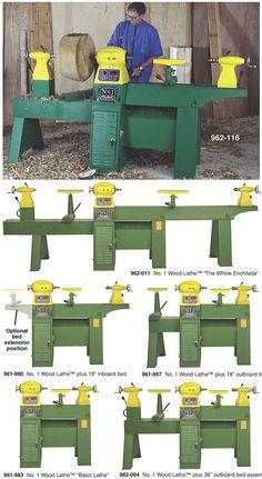 $5,100 Woodtek No. 1 Woodlathe http://woodworker.com/woodtek-no1-lathe-mssu-961-990.asp