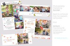 Back to School & Fall Templates by Maria B. Paints on @graphicsmag