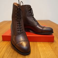 New Carmina Balmoral boots from Skoaktiebolaget