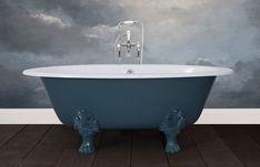 Hurlingham the Bath Company - Bronte Cast Iron Hurlingham Classic Cast Iron Bath, Copper Bath, Roll Top Bath, Steel Wool, Wire Brushes, Clawfoot Bathtub, Bathroom Accessories, It Cast, Traditional