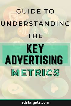 In this article, you will find all the information about key advertising metrics. #onlineadvertising