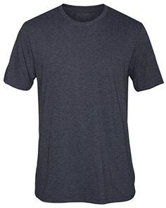 Hurley Mens Staple Premium Short Sleeve T-Shirt, Heather Black, X-Large