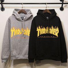 Couple Hip-hop Cotton Hoodies