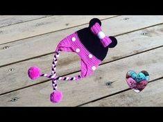 Bonnet Minnie Mouse: tutoriel au crochet, présenté par Lidia Crochet Tricot