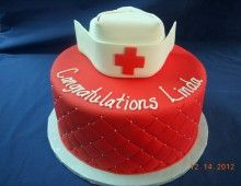 Simple Nurse Cake - Could be Used for Any Occasion