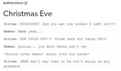 I'm certain that Sirius believes in Santa with a burning passion