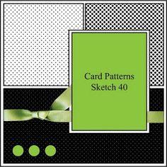 card sketch idea #cardmaking
