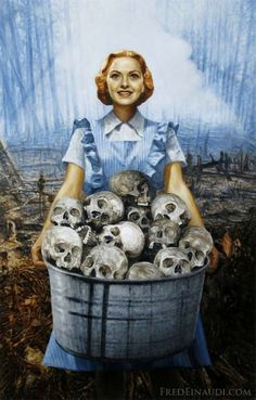 Painting Death: Disturbing Art by Fred Einaudi
