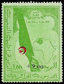 The Rarest Algerian Stamp - cat value 400 euros
