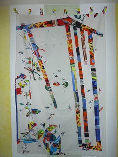 Vorhang, ca. 140 x 230 cm Baumwolle, Einzelstück Small Furniture, Vase, Curtains, Home Decor, Textile Design, Cotton, Blinds, Decoration Home, Room Decor