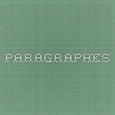 paragraphes