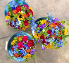 Bright and bold by Amanda @ Peamore Flora