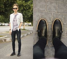 Daniil Shamatrin - camiseta, zapatos - m.  Ostermeier - ventana helada