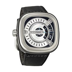 SEVENFRIDAY Men's M1-1 M Series Analog Display Japanese Automatic Black Watch