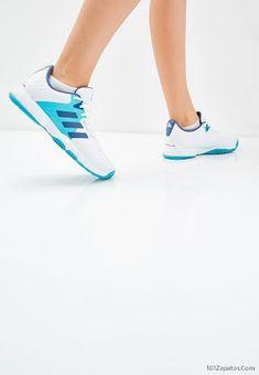 los angeles ce223 fe0e3 Zapatillas Adidas blancas