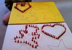 Push Pin Activity..........great for fine motor control!