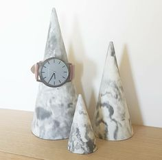 Image of Jewellery Cones - Marble