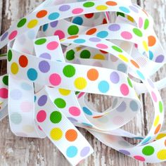 gumball dots ribbon