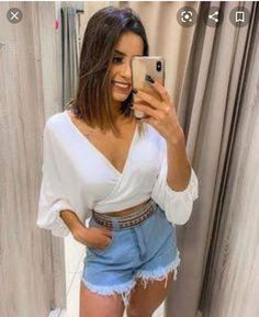 Cute Summer Outfits, Short Outfits, Trendy Outfits, Teen Fashion, Boho Fashion, Fashion Looks, Fashion Outfits, Feminine Style, Casual Looks
