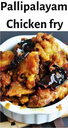 Pallipalayam Chicken fry, is a popular dish in southern part of TamilNadu. Pallipalayam Chicken recipe,How to make chicken fry,Chicken fry recipes,recipes Recipes With Chicken And Peppers, Spicy Chicken Recipes, Roast Recipes, Curry Recipes, Cooking Recipes, Roasted Chicken, Pollo Masala, Chicken Masala, Chicken Gravy